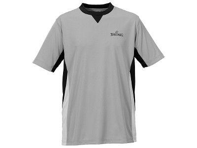 Schiedsrichtershirt classic grau/schwarz/silbergrau