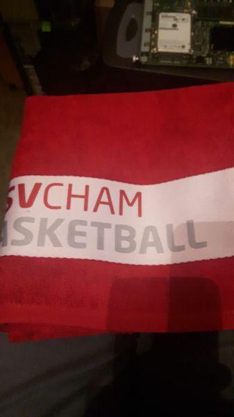 Handtuch mit Abteilungs Logo